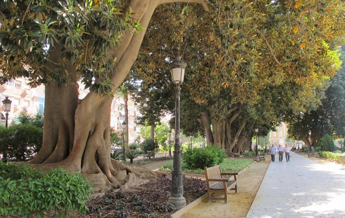 Jardín de Floridablanca en Murcia Jardines históricos de España