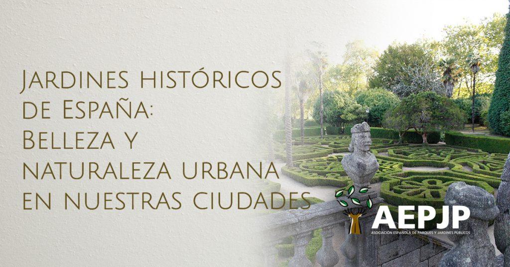 portada jardines históricos de España