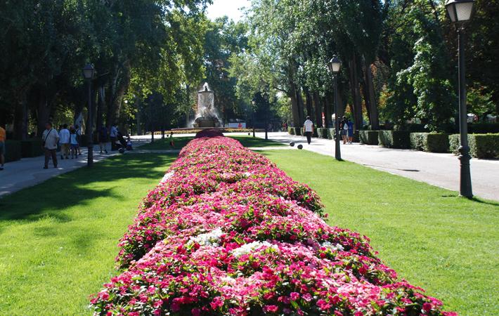 jardines históricos de España jardines del buen retiro