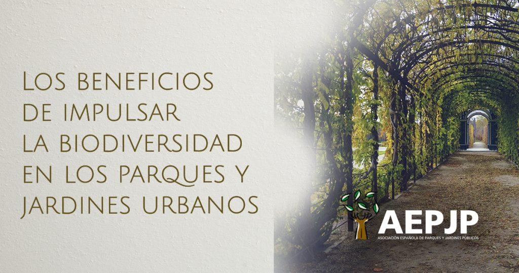 portada los beneficios de impulsar la biodiversidad en los parques y jardines urbanos