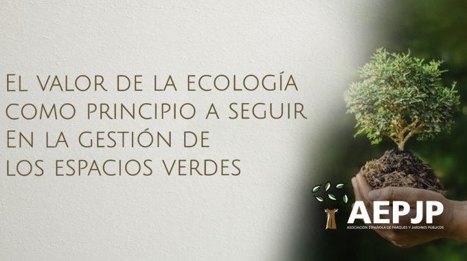 Portada El Valor De La Ecología Espacios Verdes