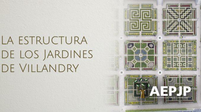 Portada Estructura De Los Jardines De Villandry