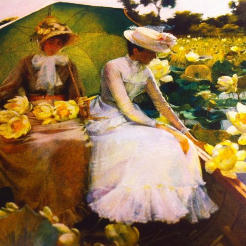 Nénuphars - (Charles Courtney Curran)