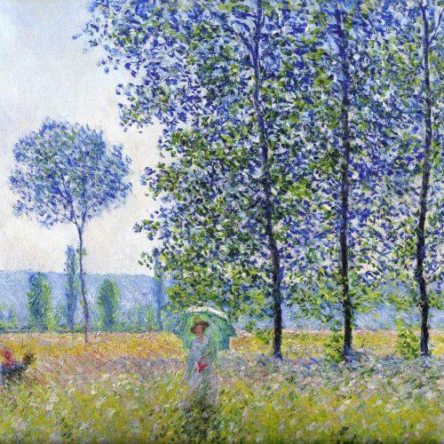 Campos En Primavera - (Claude Monet, 1887)