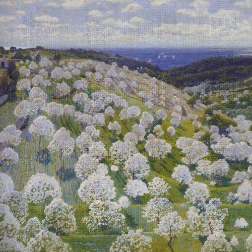 Almendros En Flor - (Santiago Rusiñol)