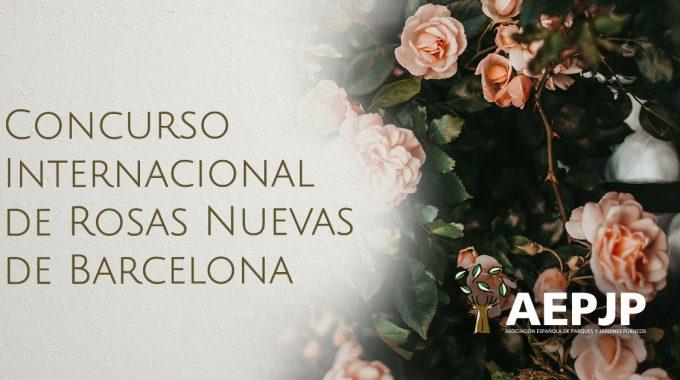 Portada Concurso Internacional De Rosas Nuevas En Barcelona
