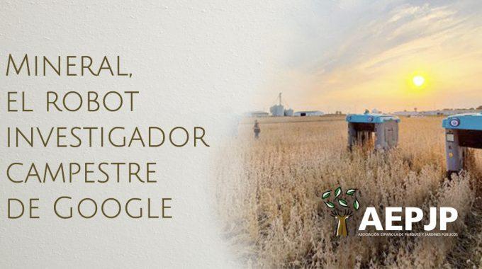 Portada Mineral El Robot Investigador Campestre De Google