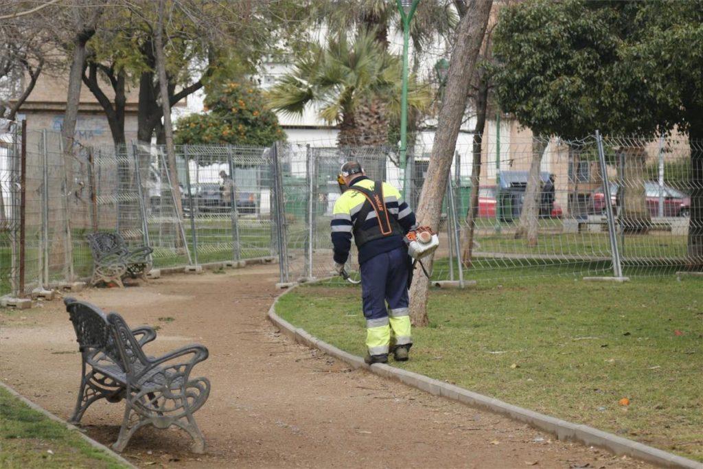 Trabajo de desinfección en Córdoba