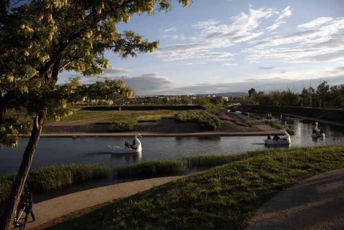 Parque del agua en Zaragoza