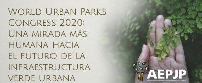 Portada World Urban Parks Congress 2020