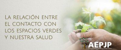 Portada La Relación Entre El Contacto Con Los Espacios Verdes Y Nuestra Salud