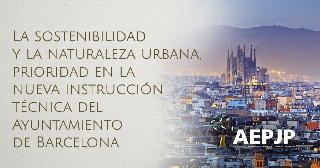 portada sostenibilidad y naturaleza urbana ayuntamiento de barcelona