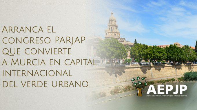 Portada Congreso Parjap 2021 Murcia