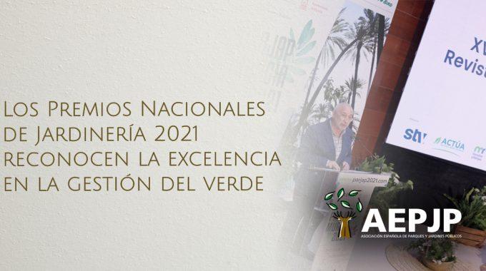 Portada Premios Nacionales De Jardinería 2021