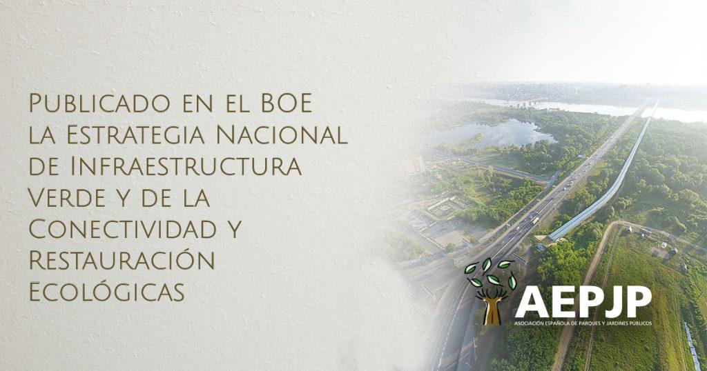 portada publicado en el boe estrategia nacional infraestructura verde