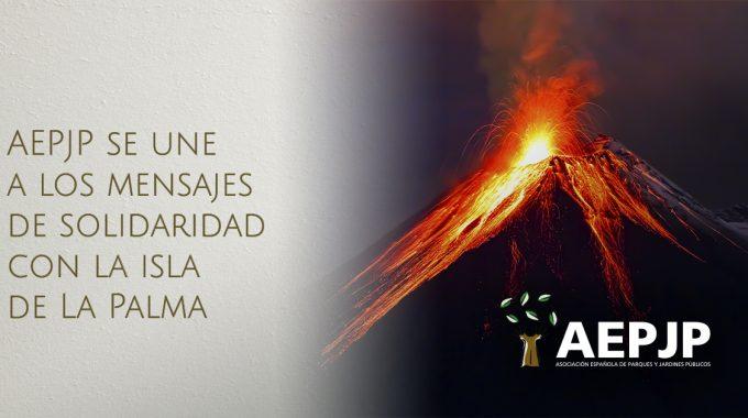 Portada La Aepjp Se Une A Los Mensajes De Solidaridad Con La Isla De La Palma